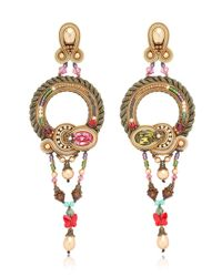 Dori Csengeri - Metallic Baroque Earrings - Lyst