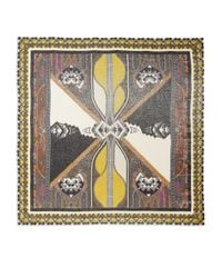 Etro - Metallic Tribal Lurex & Silk-Blend Scarf - Lyst