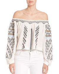4c72779462e8fe Free People. Women s Off-shoulder Crop Top