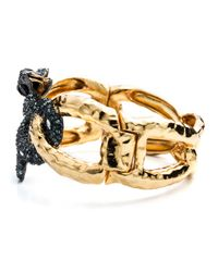Alexis Bittar | Metallic Encrusted Serpent Link Hinge Bracelet You Might Also Like | Lyst