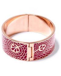 Liberty - Pink Hera Solid Cuff - Lyst