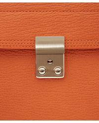 3.1 Phillip Lim - Orange Pashli Leather Backpack for Men - Lyst