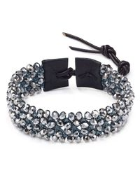 Chan Luu - Metallic Bead Cluster Bracelet - Lyst