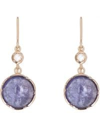 Irene Neuwirth | Pink Gemstone Double-drop Earrings | Lyst