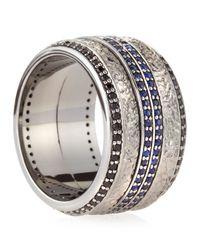 Stephen Webster - Blue Highwayman Sapphire Spinning Ring for Men - Lyst
