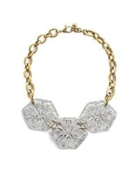 Lulu Frost | Metallic Atrium Statement Necklace | Lyst