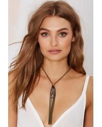Heather Kahn - Metallic Nightshade Chain Necklace - Lyst