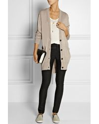 M.i.h Jeans - Brown The Long Slouch Wool, Silk And Cashmere-Blend Cardigan - Lyst