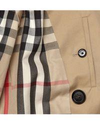 Burberry | Natural London Long Cotton-gabardine Trench Coat for Men | Lyst