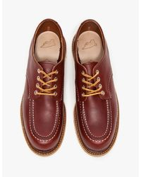 Red Wing - Brown Moc Toe Derby for Men - Lyst