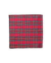 Polo Ralph Lauren - Red Tartan Silk Pocket Square for Men - Lyst