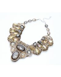 Nakamol | Multicolor Gypsum Couture Necklace-gold Mix | Lyst