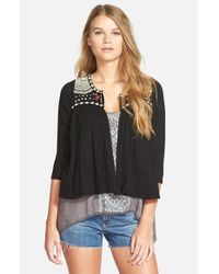 Rip Curl | Black 'fantasy' Blouse | Lyst