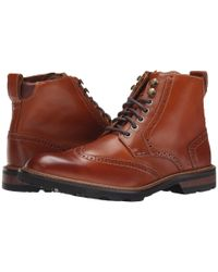 Florsheim | Brown Kilbourn Wingtop Boot for Men | Lyst