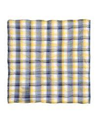 Aglini - Blue Square Scarf for Men - Lyst