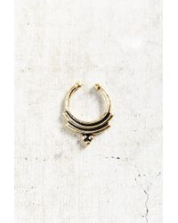 Urban Outfitters - Metallic Bali Nights Septum Ring - Lyst