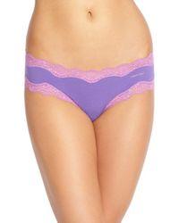 Calvin Klein | Purple Hipster Briefs | Lyst