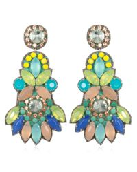 Suzanna Dai | Multicolor Tropicalia Chandelier Earrings | Lyst