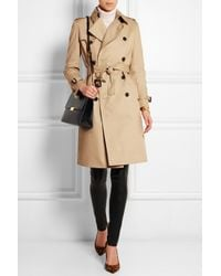 JOSEPH - Natural Townsend Cotton-Twill Trench Coat - Lyst