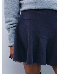 Free People | Blue Sunshine Smile Skirt | Lyst