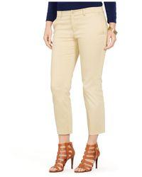 Lauren by Ralph Lauren - Natural Plus Size Skinny Pants - Lyst