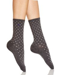 Ralph Lauren | Gray Medium Pindot Trouser Socks | Lyst