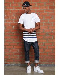 Forever 21 - White Civil League Drop Tee for Men - Lyst