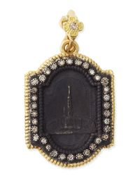 Armenta | Blue Midnight & Yellow Gold Basilica Enhancer With Diamonds | Lyst