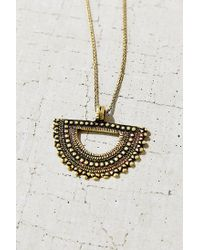 Urban Outfitters | Metallic Medallion Necklace | Lyst