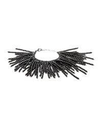 Brunello Cucinelli | Black Bracelet | Lyst