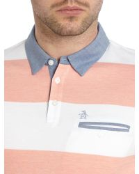 Original Penguin | Pink Pique Polo Shirt for Men | Lyst