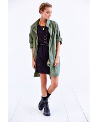 Urban Outfitters - Green Capulet Oversized Military Parka - Lyst