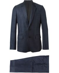 Paul Smith - Blue Checked Suit for Men - Lyst