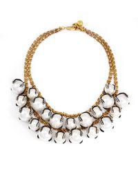 Lulu Frost | White Decade Necklace | Lyst