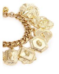 Lulu Frost | Metallic Victoria Plaza Number Charm Bracelet | Lyst