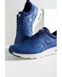 the latest 3902d df5fb Women s Blue Air Max Thea Premium Sneaker