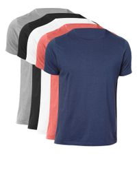 ASOS - Multicolor T-shirt With Crew Neck 5 Pack Save 20% for Men - Lyst