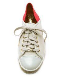 MICHAEL Michael Kors - Red Kristy Slide Sneakers - Black - Lyst