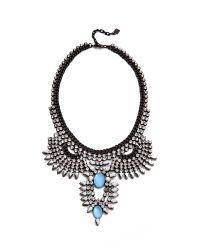 DANNIJO - Blue Izzie Necklace - Lyst