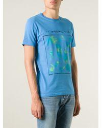 Paul Smith   Blue 'Le Troisième Œil' Print T-Shirt for Men   Lyst