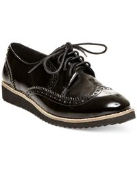 Steven by Steve Madden | Black Steffan Oxfords | Lyst