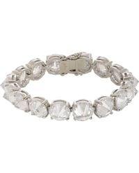 Fallon | White Classique Bracelet | Lyst
