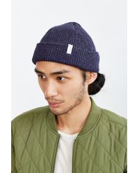 Coal | Blue The Frena Solid Beanie for Men | Lyst