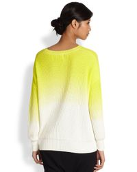 Tsumori Chisato - Cats By Ombre Ribbed Dolmansleeved Sweater - Lyst