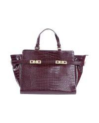 Studio Pollini | Purple Handbag | Lyst