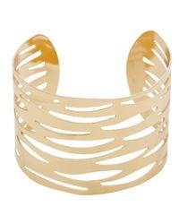 John Lewis - Metallic Animal Cut-Out Cuff Bracelet - Lyst