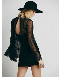 Free People | Black Womens Last Kiss Blouse | Lyst
