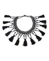 Moschino - Black Festoon Necklace - Lyst