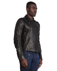 Balmain | Black Leather Jacket | Lyst