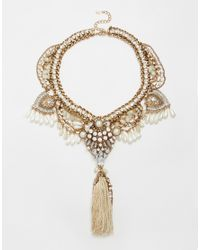 ALDO | Metallic Germansen Statement Necklace | Lyst